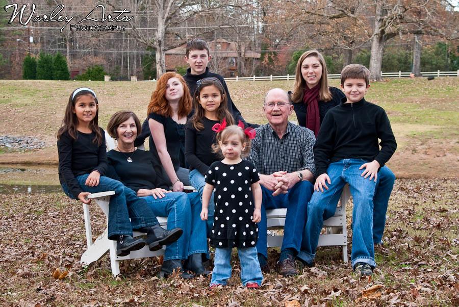 multigeneration family photo