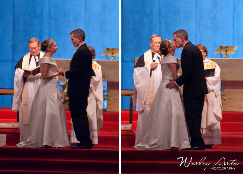 vows and kiss