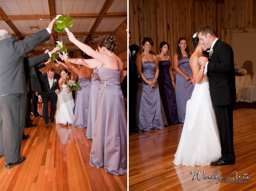 entrance and first dance