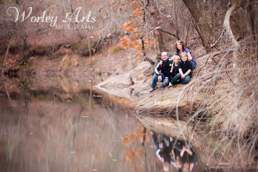 family river reflection