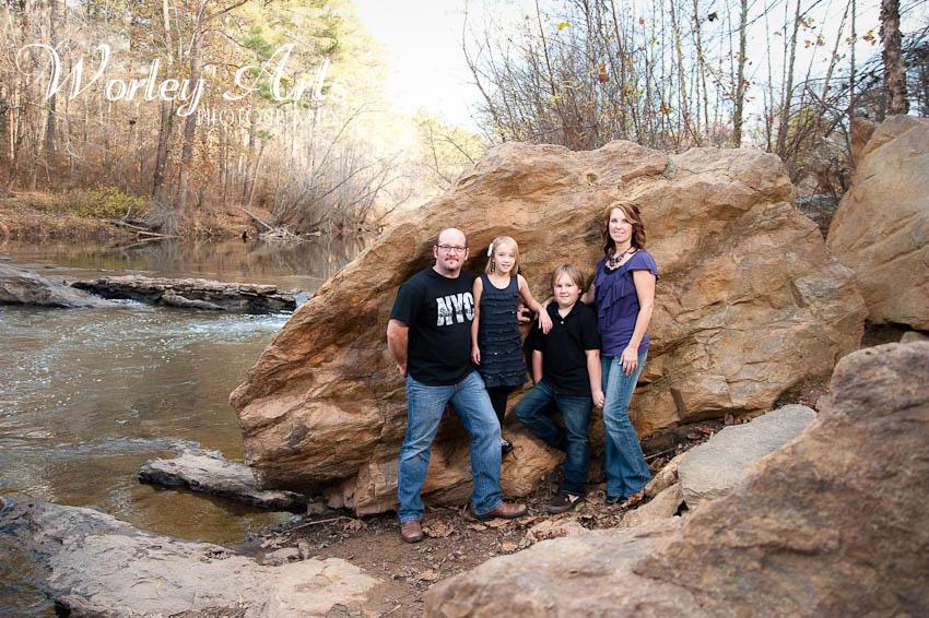 family portrait rock river