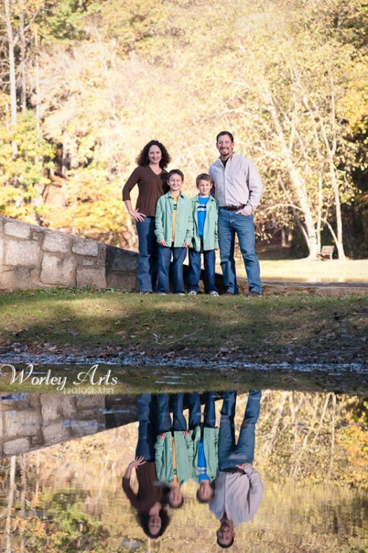 family reflection lake