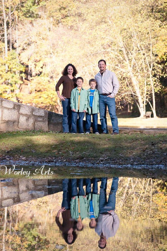 family reflection lake