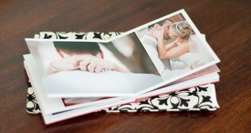 smaller duplicate wedding album parent book