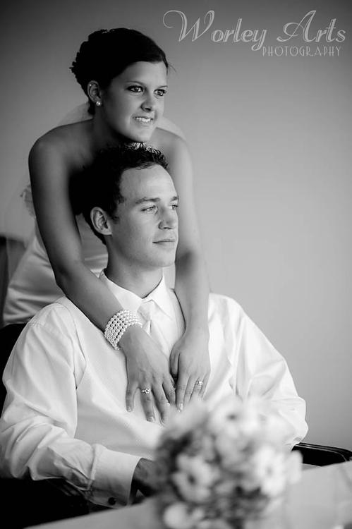 Sarah and Justin bridal suite