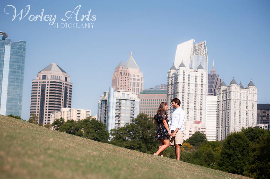 Engagement Session Piedmont Park